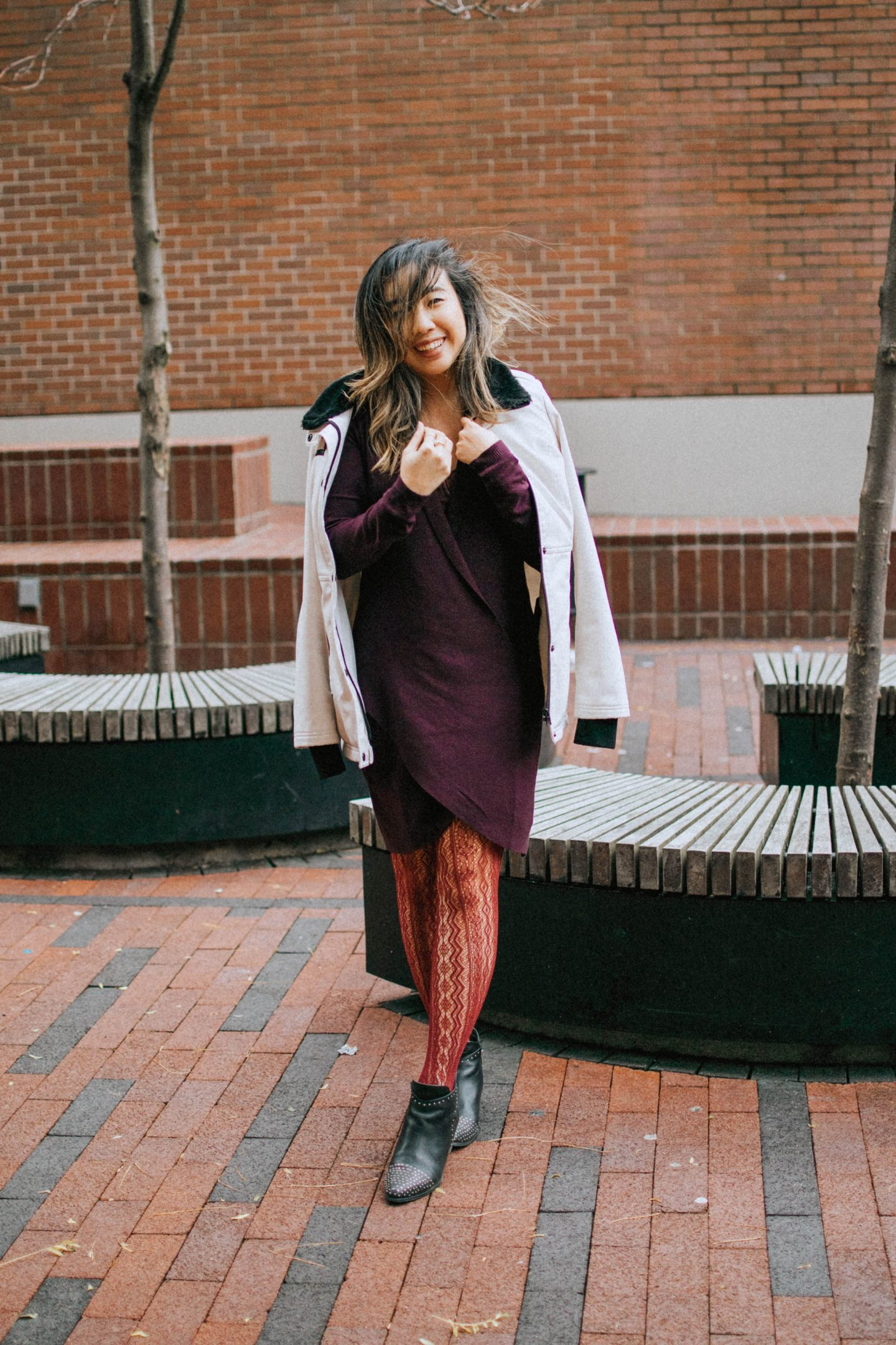 One of my fall trends to try: A Classic Burgundy Piece