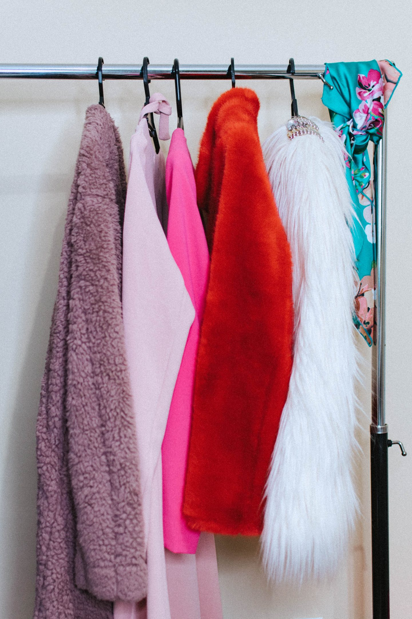 Doing a closet purge can help get rid of pieces you don't wear to make room for more