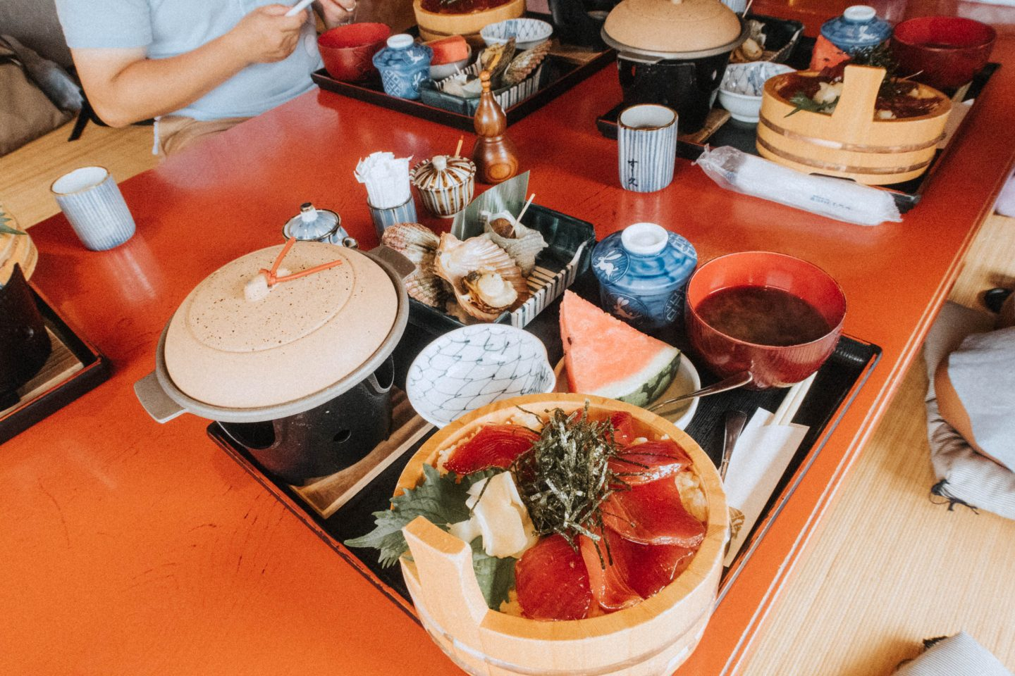 Exploring Gujo City in the Gifu Prefecture in central japan and eating some delicious food