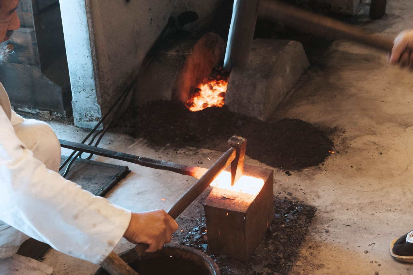 Making swords and kanatas at the Seki Knife Museum in central japan