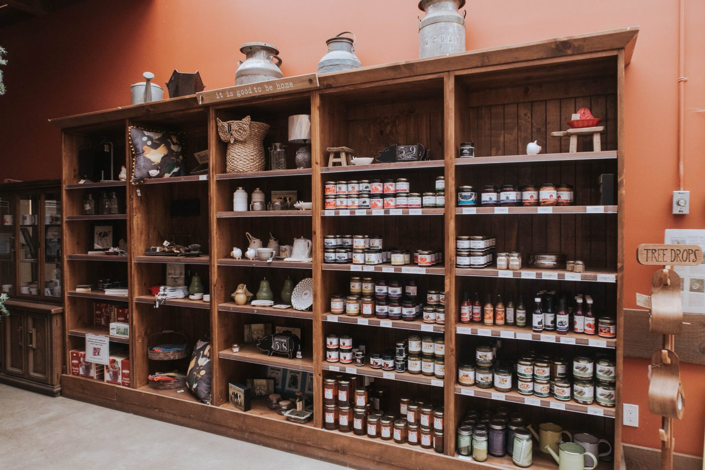 Mann Farms store and jams in Abbotsford