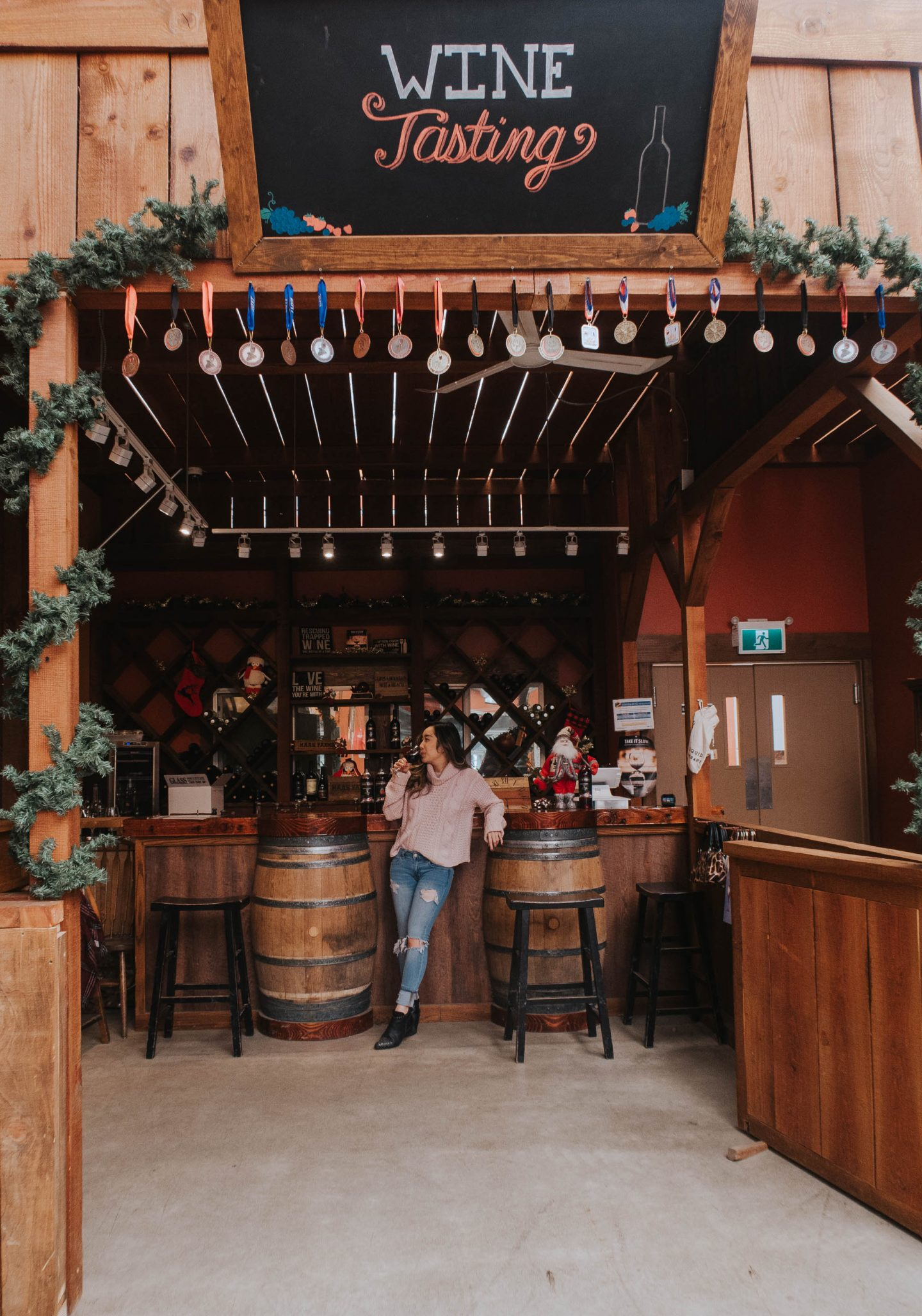 Explore and taste local wines in Abbotsford