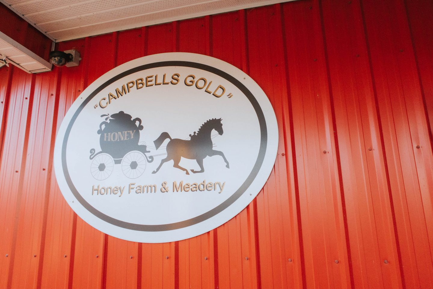So many types of honey at Campbell's Gold and Honey Meadery