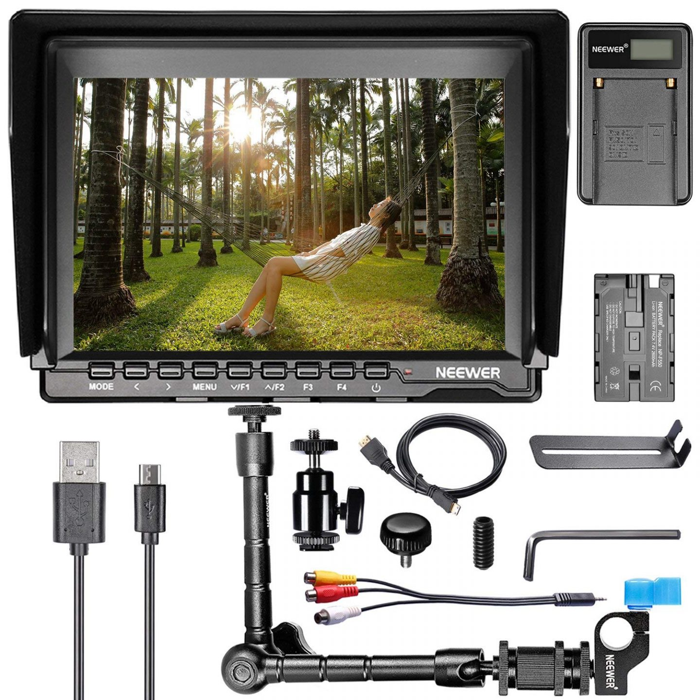 Camera kit and Monitor from Amazon