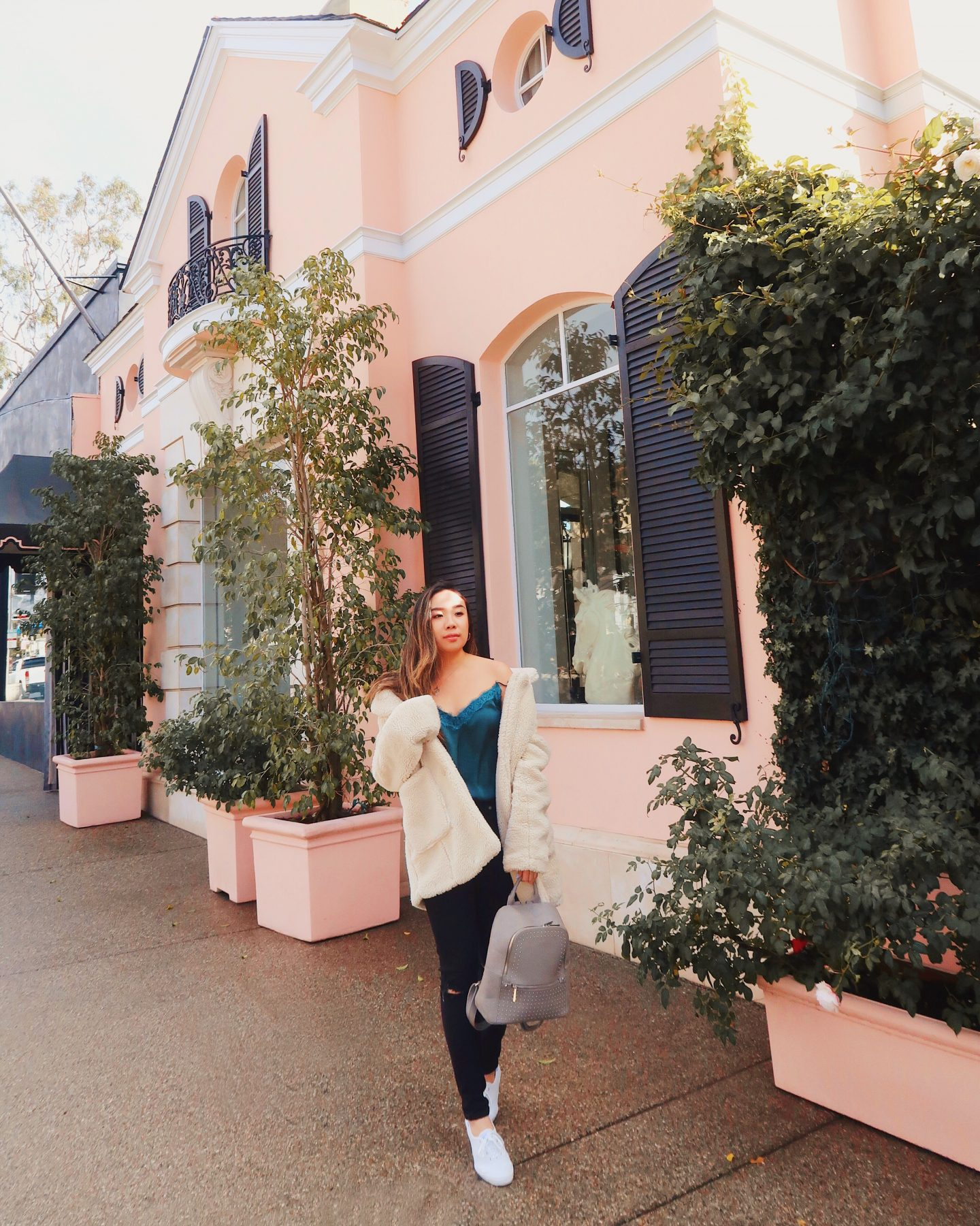 Exploring and shopping on the streets of Melrose in Los Angeles